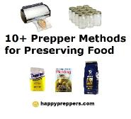 Ten methods of Food Preservation