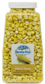 Harmony house sweet corn - freeze dried