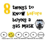 Eight things to know before buying a gas mask