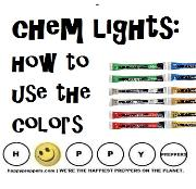 Chemical lights and how to use the colors