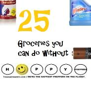 25 Groceries you can do without