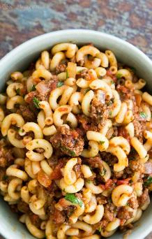 Hamburger and Macaroni