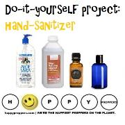 Do it yourself project: Hand sanitizer