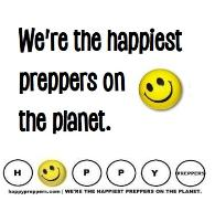 We're the happiest preppers on the planet