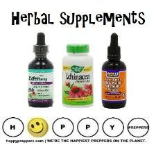 Herbal supplements for preppers