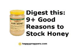 9 Good Reasons to Stock Honey in your Preps