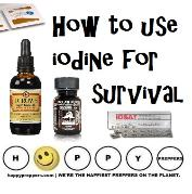 How to use iodine for survival