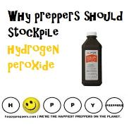 Why preppers stockpile hydrogen peroxide