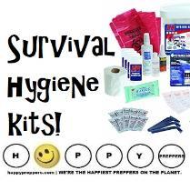 2543acd423 Survival Hygiene Kits