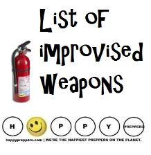 List of Improvised weapons