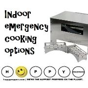 Indoor emergency cooking options