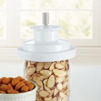 Food saver Jar sealing accessory