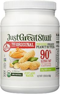 Organic Peanut Butter Powder by Just Great Stuff