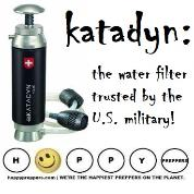 Katadyn is the water filter trusted by the U.S. Military