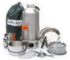 Kelly Kettle Stainless Steel Base Camp Kit