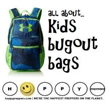 All about kids bugout bags