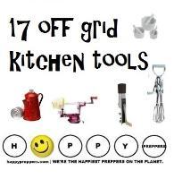 17 Off Grid Kitchen Tools