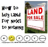 How to buy land for next to nothing