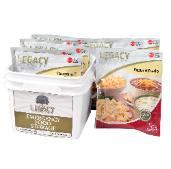 Legacy foods bucket of emeregency meals
