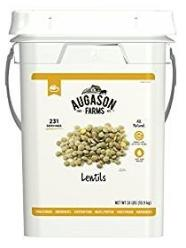 Augason Farms Lentils bucket