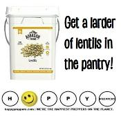 Get a larder of lentils in the pantry