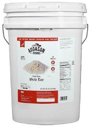 Augason Farms long Grain White Rice