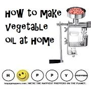 How to make vegetable oil at home