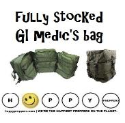Fully Stocked GI Medics bag