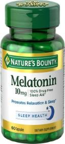 Melatonin - natural sleep aid