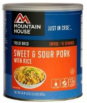 Mountain House #10 can - sweet & sour pork