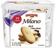 Milano dark chocolate cookie is best selling cookie on Amazon