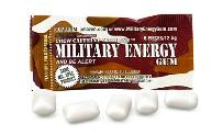 Military energy survival gum
