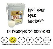 Got milk in your food storage - 12 reason why you need to stock up