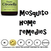 Mosquito home remedies