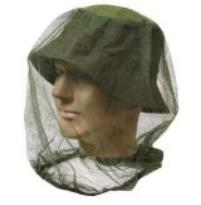 Mosquito net worn appropriately with a hat