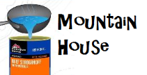 Mountain House Freeze Dried foods are preferred by backpackers