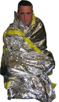 Proper use of a mylar blanket