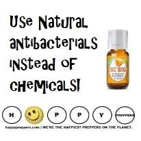 Use natural antibacterials instead of chemicals