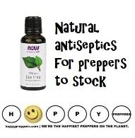 Natural antiseptics for preppers to stock