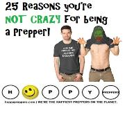 25 Reasons you're not crazy for being a prepper