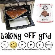 Baking off grid