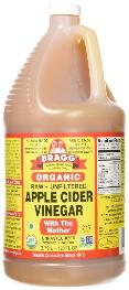 Braggs organic apple cider