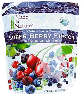 Super Berry Organic dried fruit