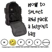 how to select and pack a bugout bag