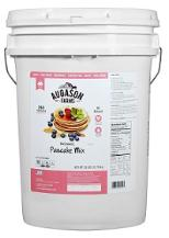 Augson farms pancake in  a bucket