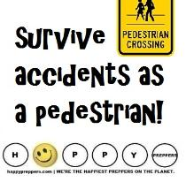 How to survive a car accident as a pedestrian