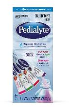 Pedialyte packets