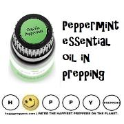 How to use peppermint essential oil in prepping