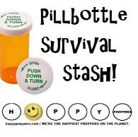 How to make a pill bottle survival stash