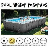 Pool water reserves
